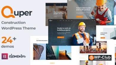 Фото Quper 1.4 — ультра-отзывчивая тема WordPress с поддержкой Retina