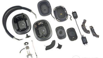 Фото В iFixit разобрали наушники Apple AirPods Max и обнаружили много механических компонентов