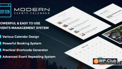 Фото Modern Events Calendar Pro 5.16.0 2 + аддоны — календарь событий WordPress